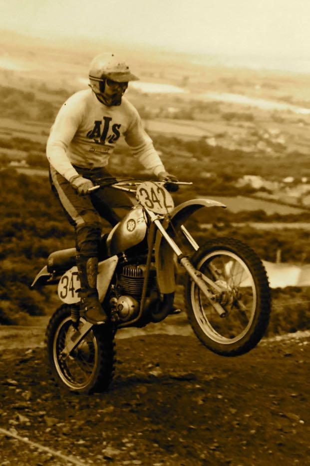 Adrian Yallop FB AJS 1979