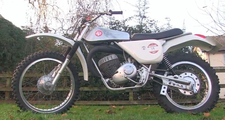 AJS Stormer 250 Enduro 1976 TP