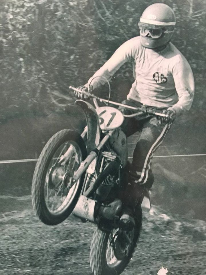 AJS Stormer Jim West