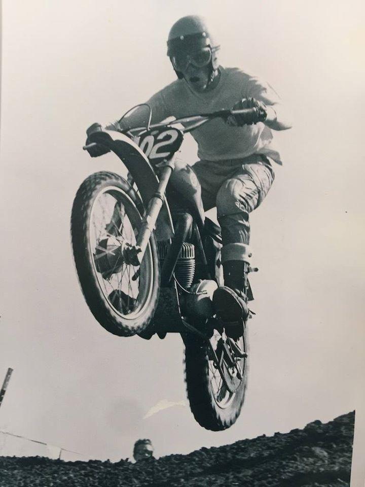 AJS Stormer Steve Hammer 1970 Carlsbad California