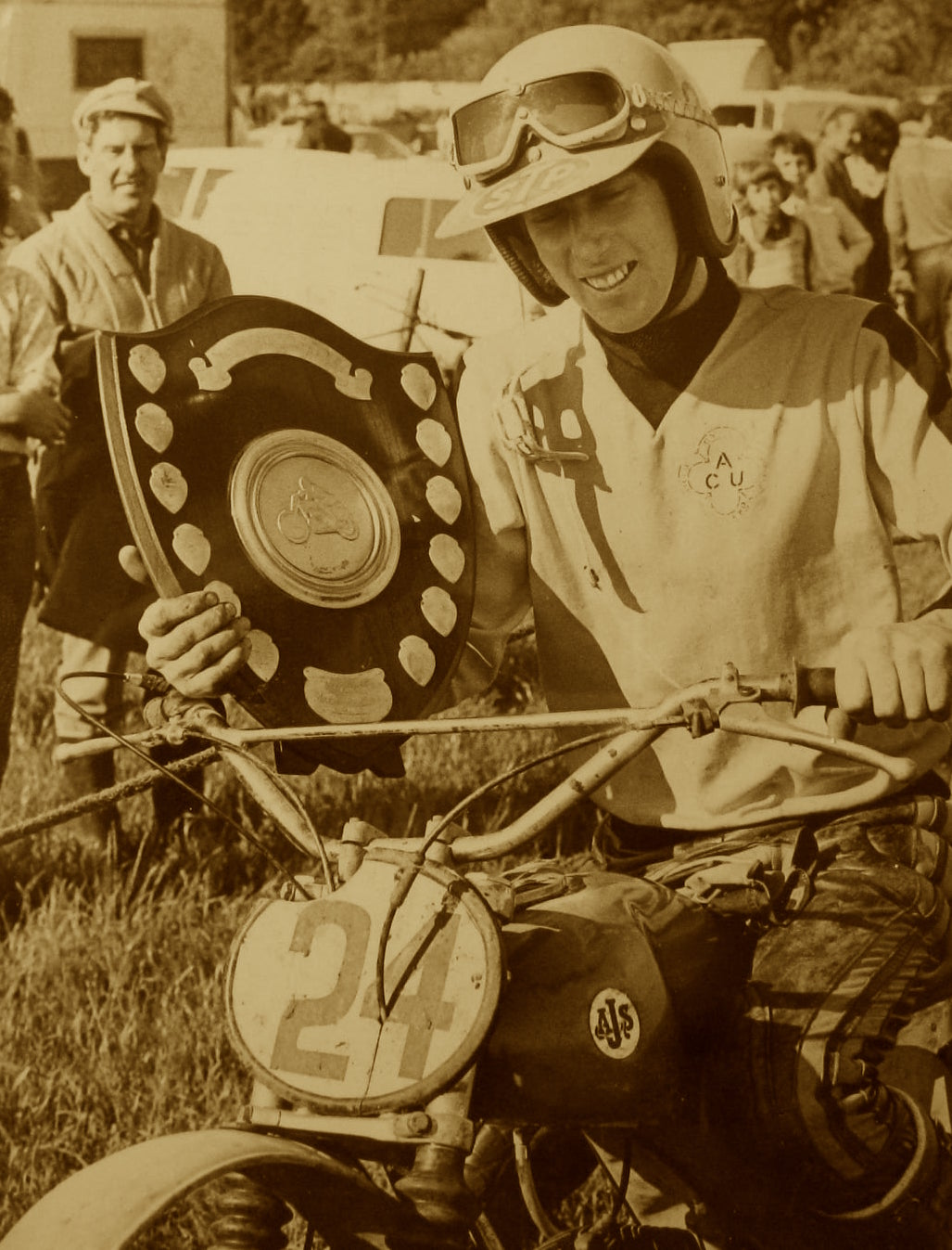 Andy White 1st Junior Bleadon 1972