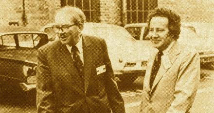 Bernard Hooper & John Favill - Norton Villiers - Wolverhampton 1975 copy
