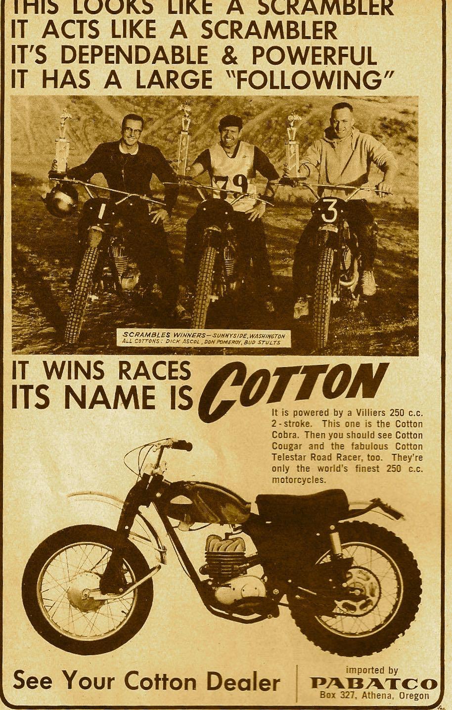 Cotton Advert
