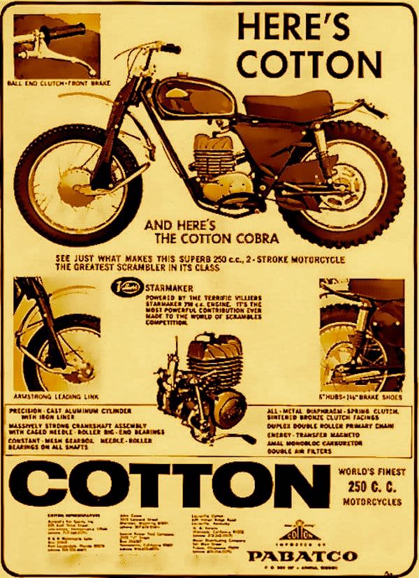 Cotton Cobra Ad