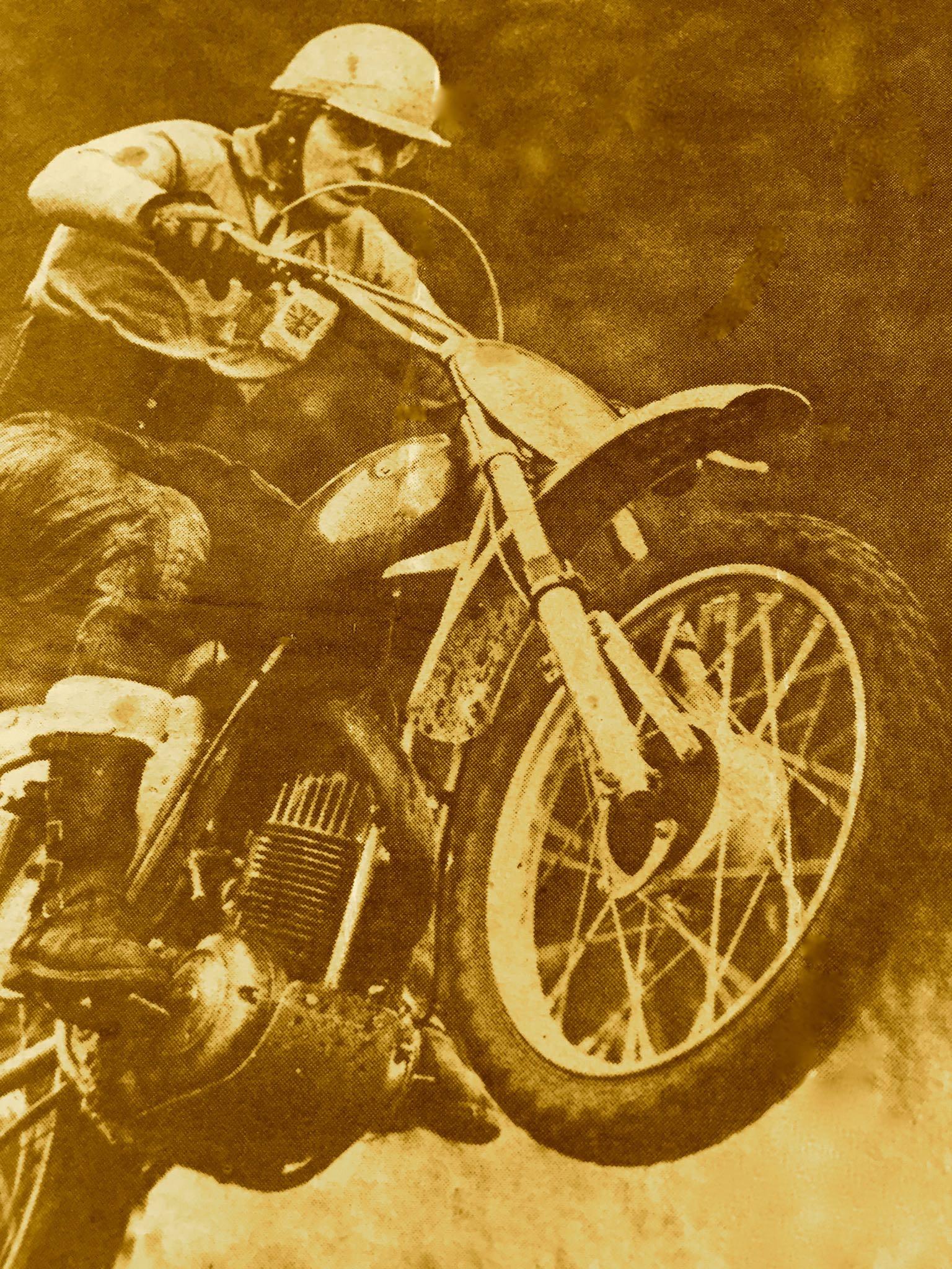 Freddie Mayes AJS Prototype