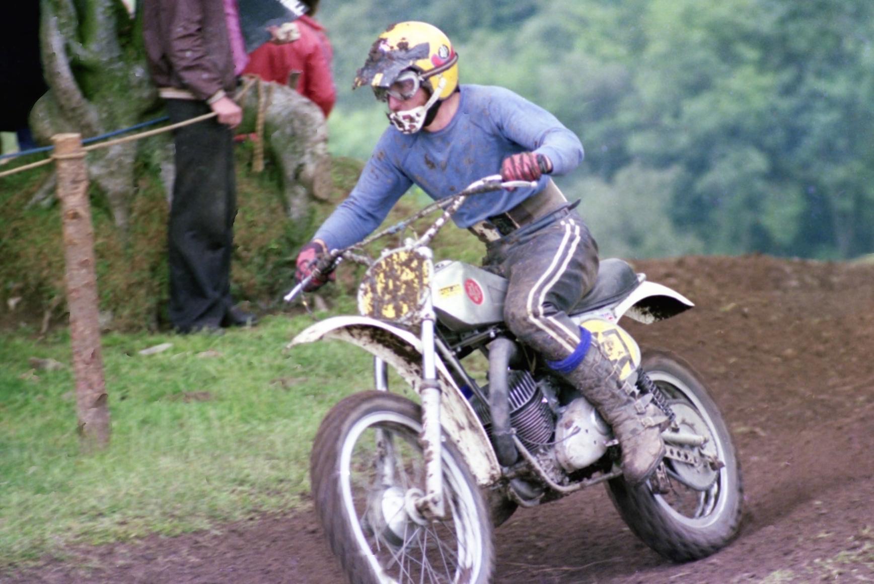 John Foot AJS Stormer 1977