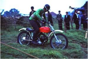 Norton Villiers Scrambler Malcolm Davis 1968