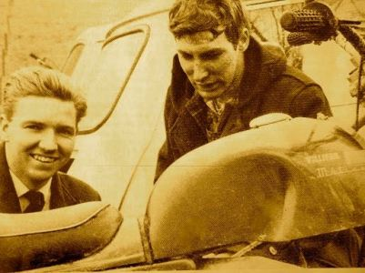Peter Inchley and Freddie Mayes 1967